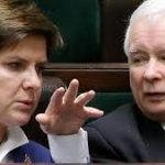 Beata Szydło und ihr Ziehvater: Jarosław Kaczyński