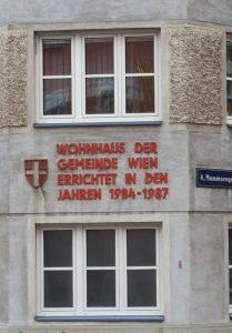 Auch jetzt Wohnungsbau durch die Gemeinde Wien